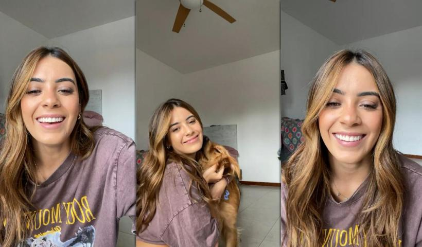Sabina Hidalgo's Instagram Live Stream from August 29th 2021.