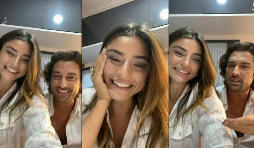Ayça Ayşin Turan's Instagram Live Stream from August 31th 2021.
