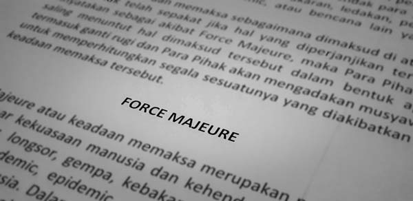Is Covid-19 Pandemic A Force Majeure in Indonesia?