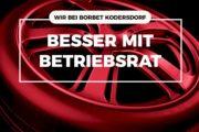 Videobotschaft von Jan Otto zur ersten Betriebsratswahl bei Borbet in Kodersdorf - Wählen gehen!