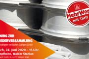 Einladung zur Mitgliederversammlung für die Beschäftigten der Borbet Solingen GmbH