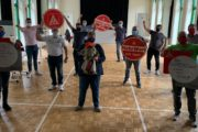 Vertrauensleute aus Gevelsberg-Hattingen, Witten und Wuppertal wünschen viel Kraft und Erfolg für den Kampf um Tarifbindung!