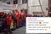 Aktivengruppe bei Benteler Steel Tube steht hinter der Tarifbewegung bei Borbet