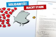 """Unterstützung von Solingens Oberbürgermeister Tim Kurzbach: """"Wir brauchen mehr und nicht weniger Tarifverträge"""""""