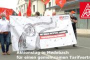 Borbet-Aktionstag: Trotz Corona und Einschüchterungsversuchen - Beschäftigte demonstrieren für Tarif