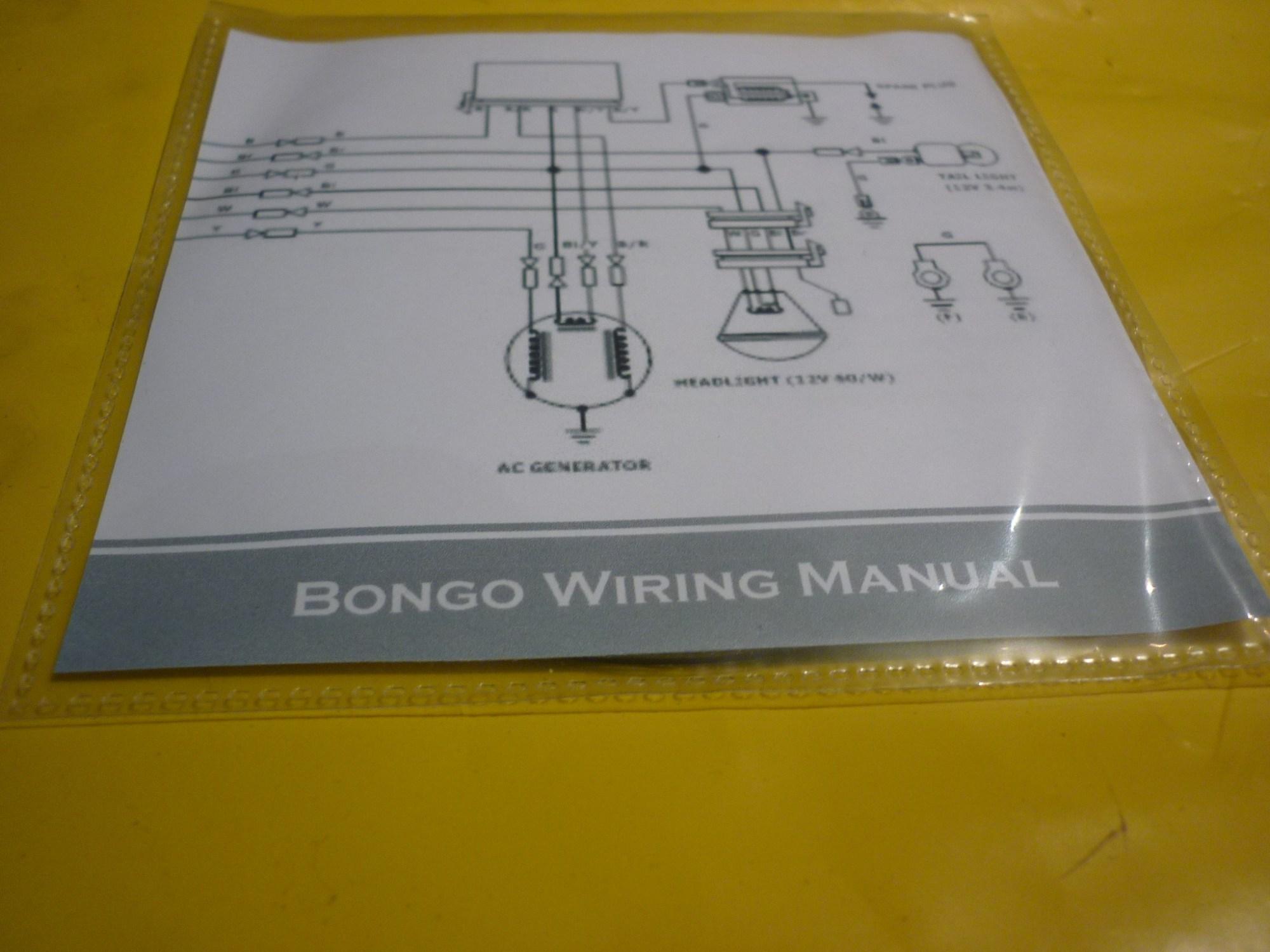 hight resolution of mazda bongo wiring diagram