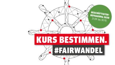 """Photo of Beschäftigtenbefragung: """"Kurs bestimmen! #Fairwandel"""""""