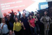 Solidarische Grüße von der IG Metall Bezirksleitung Mitte