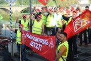 Bella Ciao Streiklied der Streikenden in Trier und Horath. Aktualisierte Version zum mitsingen Text: Uwe Zabel & Peter Gutzeit
