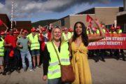 Frauen*streik 2019 - Solidaritätserklärung der Streikenden von RIVA Trier und Horath an die UNIA-Frauen