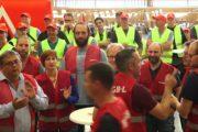 Videoclip: Internationales Soli-Meeting in Luxemburg stärkt die RIVA Streikenden aus Trier und Horath