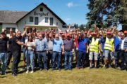 Praktische Solidarität der IG Metall Mittelhessen: 709€ für die Streikenden auf Sommerfest gesammelt