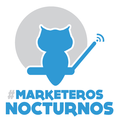 Logotipo #MarketerosNocturnos
