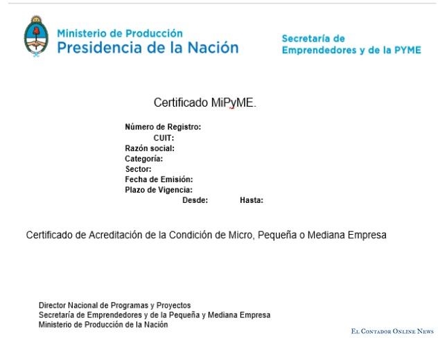 Certificado Mi Pyme: Vence el plazo para renovar de ejercicios cerrados el 30/06