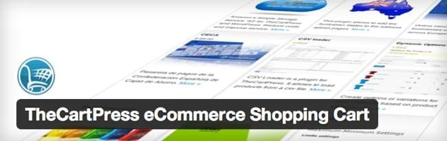 mejores plugins wordpress ecommerce thecartpress ecommerce shopping cart