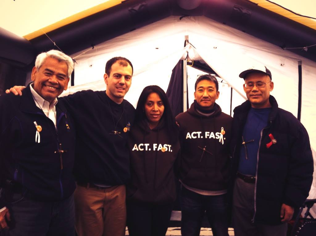 Chris Kerr with Fast4Families fasters