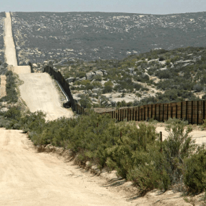 US-Mexico Border near Campo, California [SOURCE: qbac07 via Flickr)