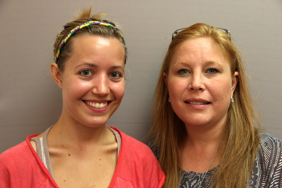 Jordan Hedgecock [LEFT] (pictured with StoryCorps recorder Tanya Mettlen), age 26, describes the moment she decided she could no longer stay in an abusive relationship. She was estranged from her family; and as the wife of a recently discharged military veteran with no local friends to turn to, she became homeless with her two young sons.