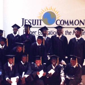 Jesuit Commons graduates in Kekuma, Kenya [SOURCE: Angela Wells — Jesuit Refugee Service Eastern Africa]