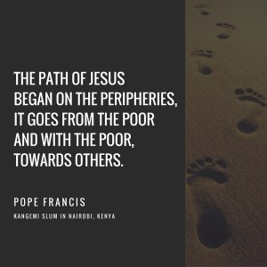 The path of Jesus began on the peripheries - Pope Francis