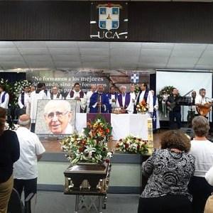fernando cardenal SJ - funeral