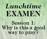 Lunchtime Examen Session 1 button