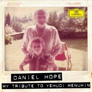 Hope Menhuhin CD cover. Deutsche Grammaphon