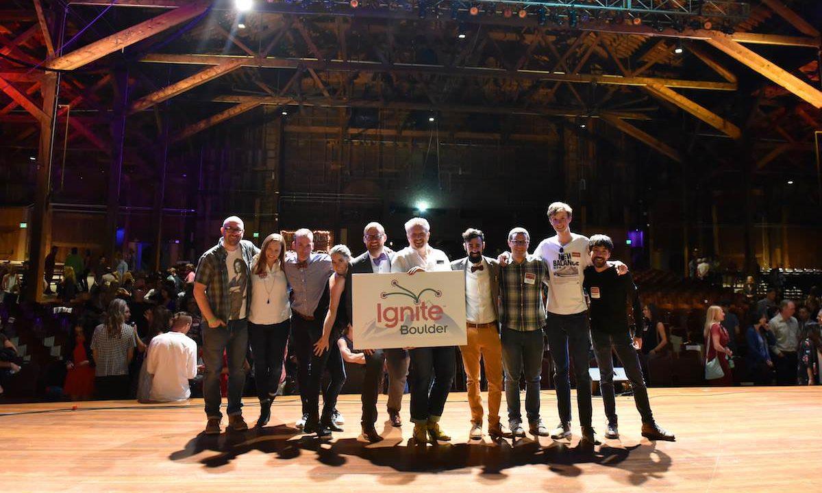 Ignite Boulder – Enlighten us quickly  Short 5 minute talks