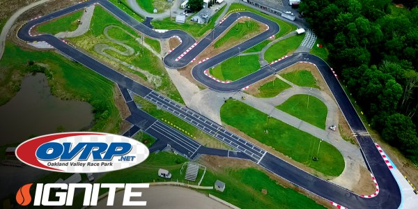 NEW YORK'S OAKLAND VALLEY RACE PARK ADDS IGNITE SENIOR IN 2020