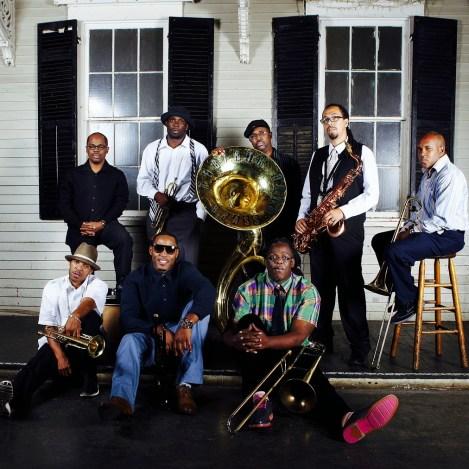 Rebirth Brass Band Press