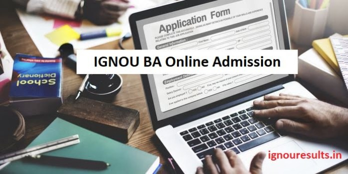 IGNOU BA Admission