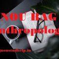 IGNOU BAG (Anthropology) Study Material