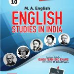IGNOU MEG10 English Studies In India,IGNOU Help Books with Solved Previous Years' Question Papers and Important Exam Notes
