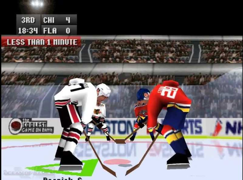 NHL 97 Features