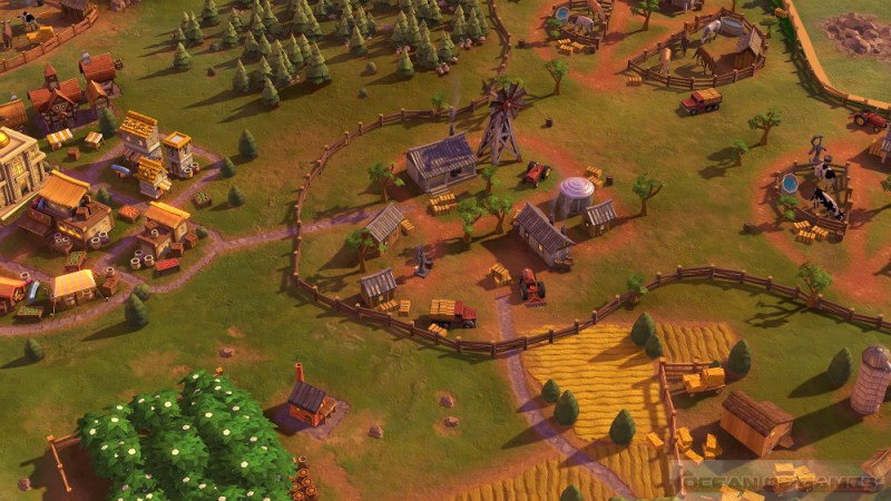 Sid Meiers Civilization VI Australia Scenario Features