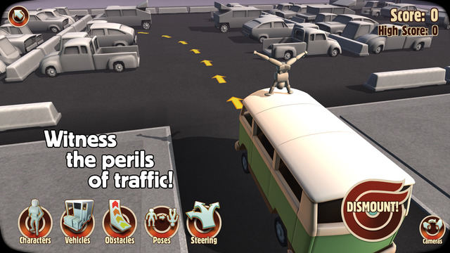 Turbo-Dismount-Free-game-Features