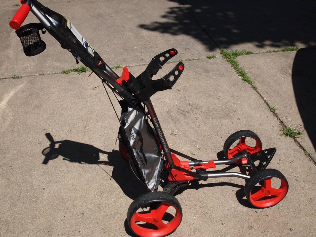 Sun Mountain 2013 Micro Cart  IGolfReviews