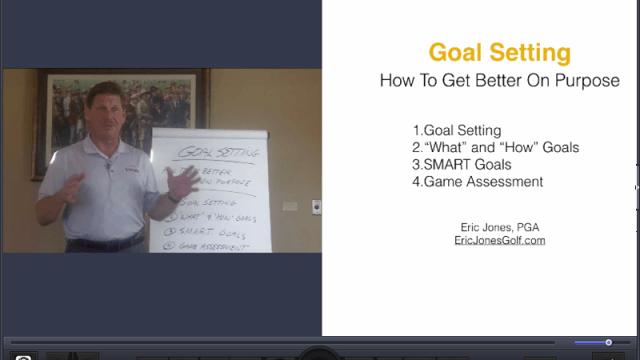 Goal Setting For Golfers