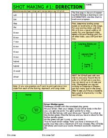 Direction Practice Plan
