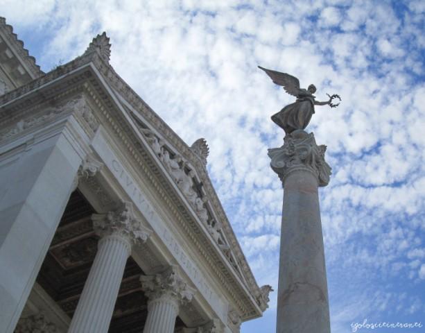 Dettaglio dell'Altare della Patria (Vittoriano) a Roma