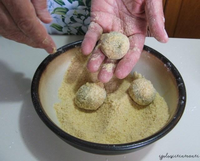 Preparazione delle olive ascolane