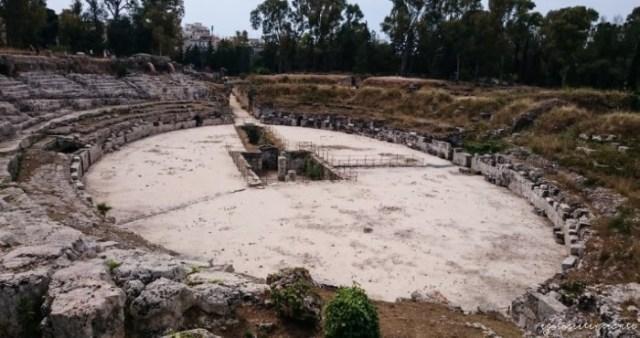 Parco Neapolis a Siracusa: l'anfiteatro romano