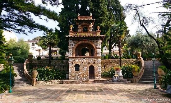 Giardini di Villa Comunale a Taormina