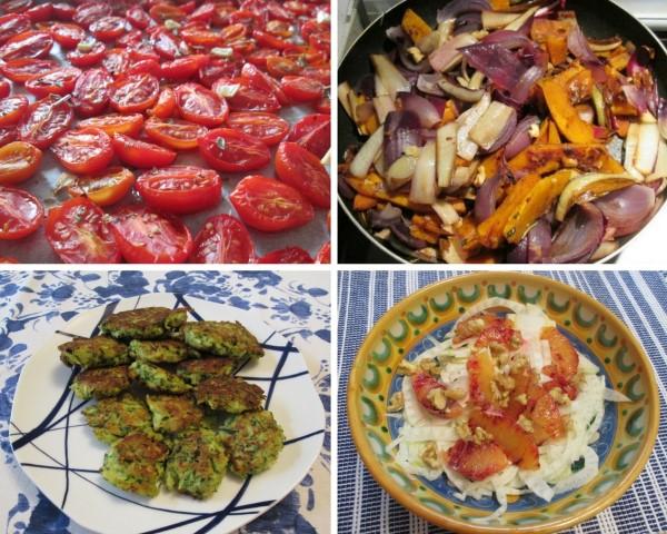 Contorni e piatti con verdure de I golosi itineranti