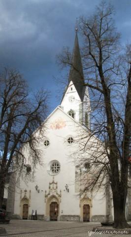 Chiesetta bianca di Radovlica, in slovenia