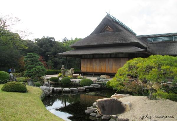 Giardino Korakuen a Okayama, uno dei tre principali giardini del Giappone