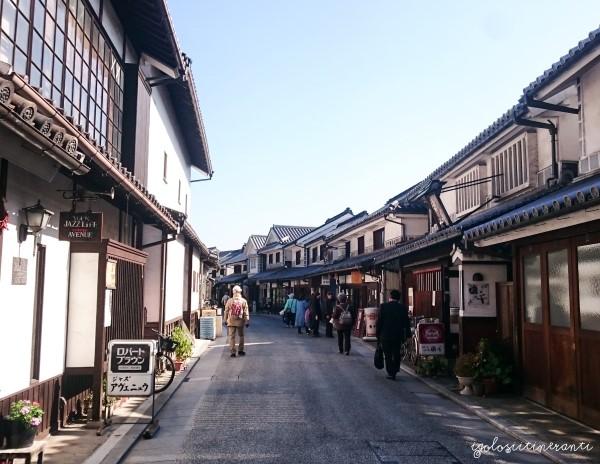 Stradina tipica di Kurashiki, quartiere Bikan