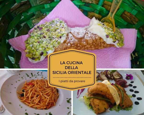 Piatti tipici della Sicilia Orientale