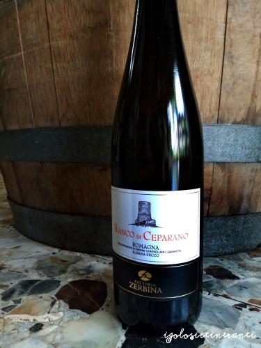 Vino Bianco di Ceparano, albana 100% azienda Fattoria Zerbina