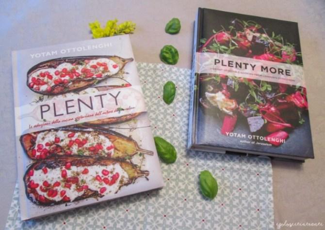 """Libri di ricette di verdure, """"Plenty"""" e """"Plenty more"""" di Yotam Ottolenghi"""